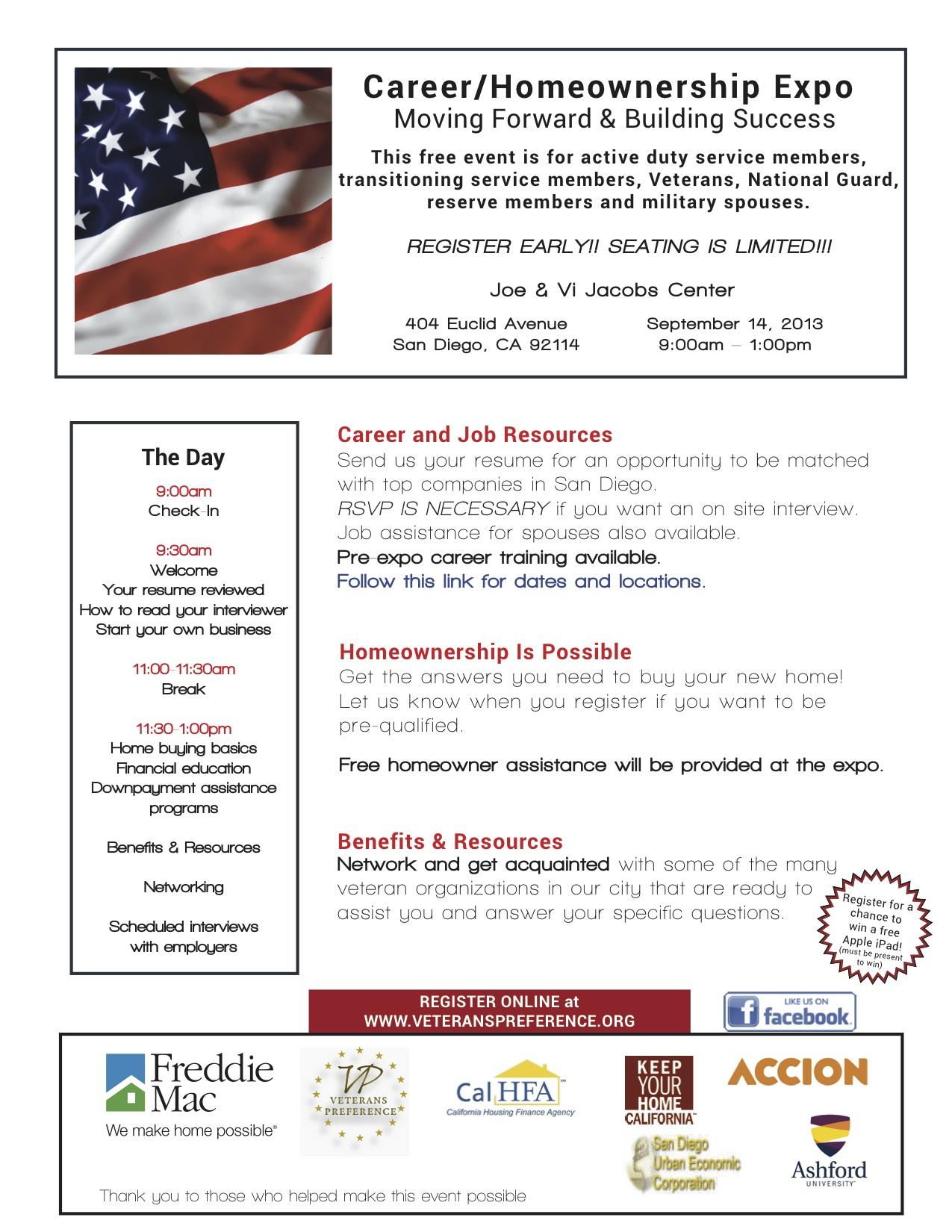 Career/Homeownership Expo