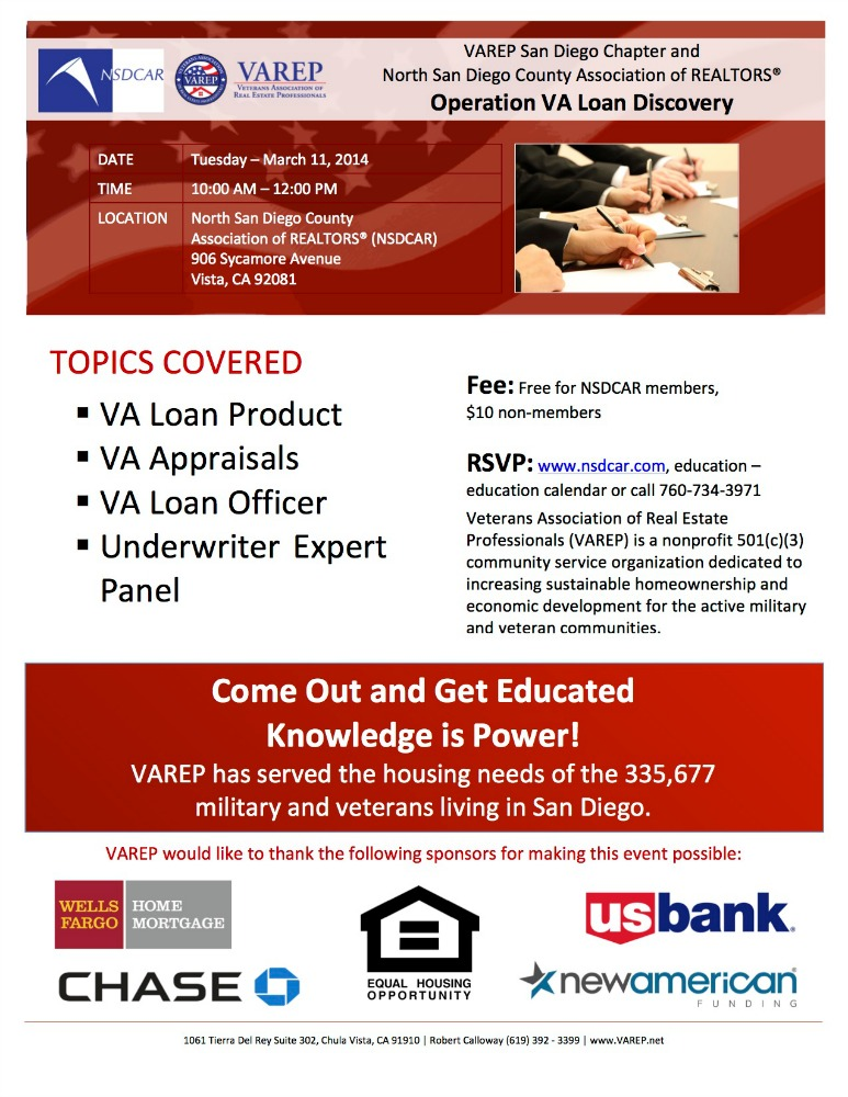VAREP North County Workshop
